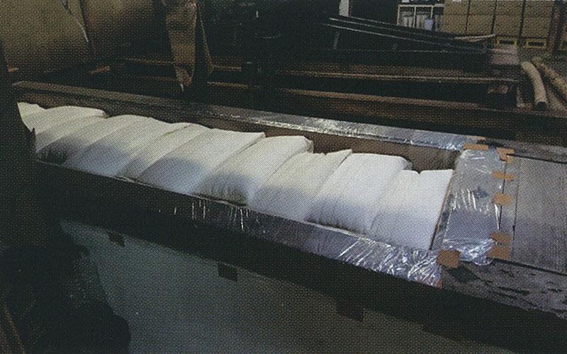 伝承の和釜槽搾り