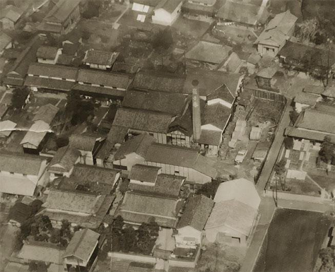 倉敷市連島にある昔ながらの造り酒屋